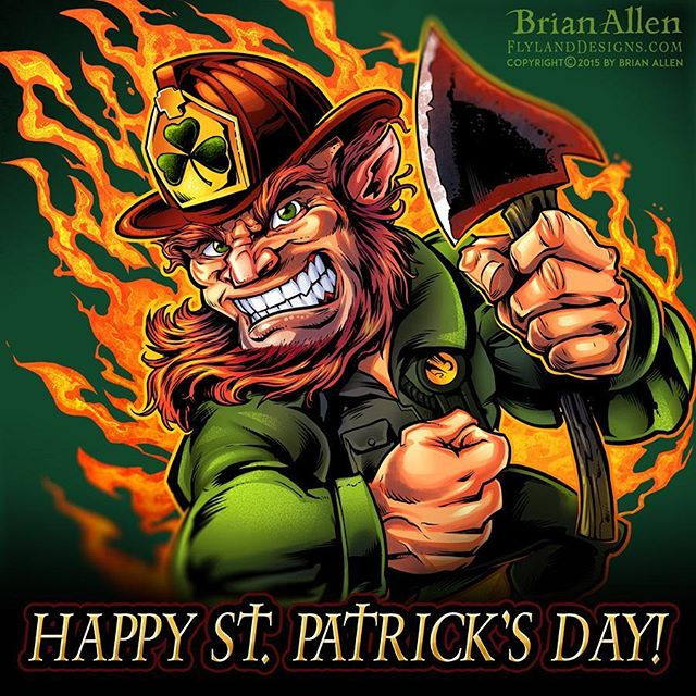 Happy St. Patrick's Day from your friends at FlyLand Designs ...