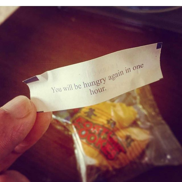 This has got to be the most accurate Fortune I've ever gotten from a fortune cookie