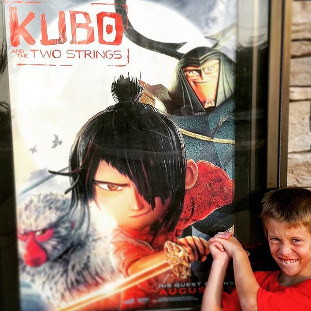 Oh man, Kubo is the best, most original  movie I've seen in a long time.  Go take your kid to see it NOW. If you don't have a kid, you can take one of mine. Just no candy and soda please.#kubo