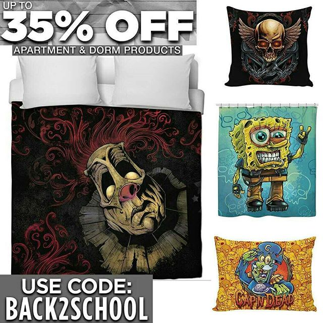 Some of my artwork is available on gear for your dormhttps://www.rageon.com/a/users/TheArtofBrianAllen#skulls #apparel #apartment #dorm