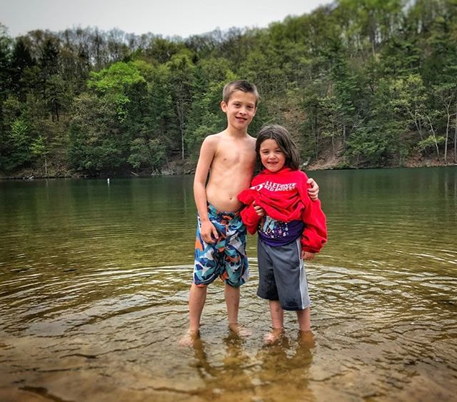 Bella and Michael on the first camping trip of the year. There's a horrible story behind the clothes Bella is wearing New Artwork From Instagram