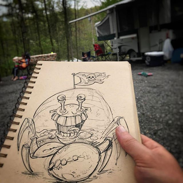 First Camping trip of the year!! Breaking In The new-to-us pop-up trailer New Artwork From Instagram