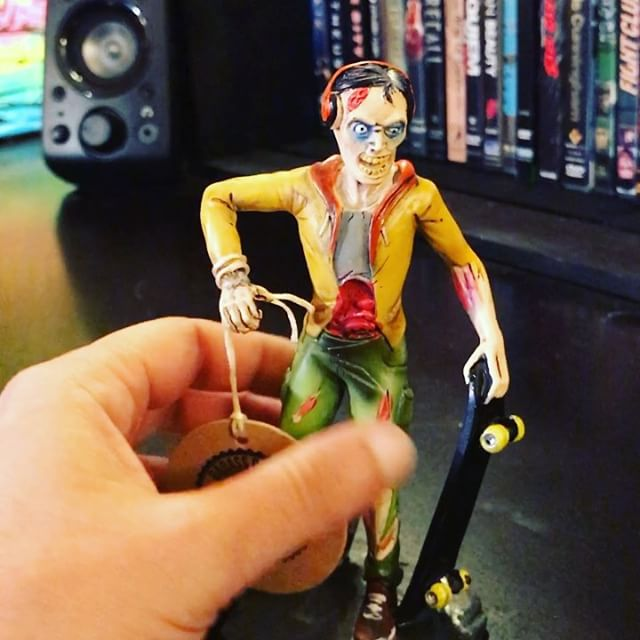 My first toy design! I was hired to design the turn-around illustrations for these four zombie figurines that were modeled and hand-painted for gift shops. Get them at BadAssBiters.com#toydesign #zombie #art #illustration #toy @concept New Artwork From Instagram