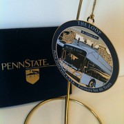Penn State Ornament design featuring the CATA bus