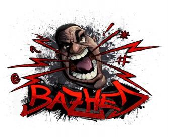 Urban logo design big angry head