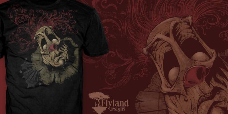 Dark-Clown-T-Shirt