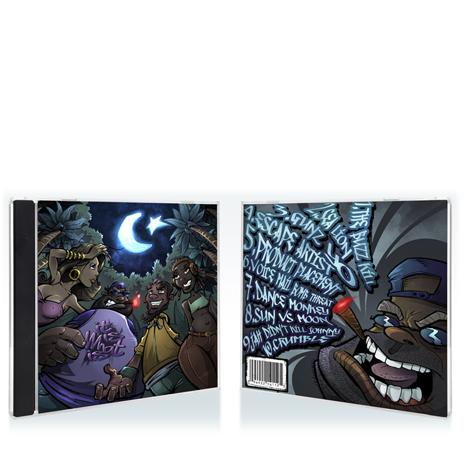 Hip hop album cover design