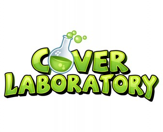 Logo design for yearbook cover design company with a science lab theme