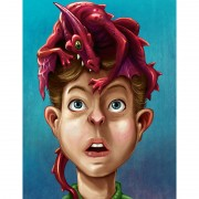 Dragon Boy Art Print