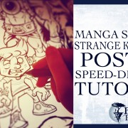 Manga Studio 5 Speed-Inking tutorial, Strange Kids Club Magazine