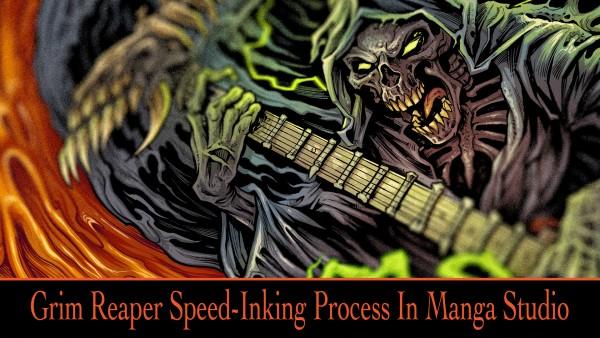 Grim Reaper Speed Painting