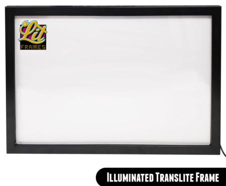 LED backlit Pinball Translite