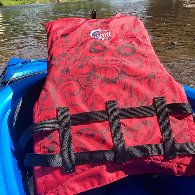 My PFD is cooler-looking than your PFD.#laborday #art #PFFD
