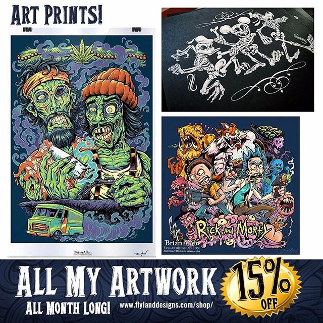 Tis the season for buying stuff - it's patriotic. It's your DUTY. So I've marked everything down 15% in my art shop this month - makes a great gift for all the demented and sick people on your list! https://www.flylanddesigns.com/shop/