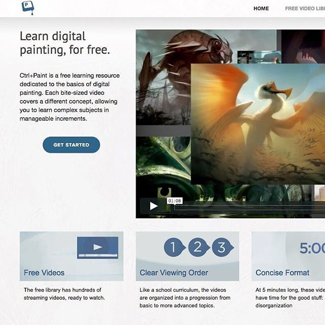 I found this great resource for learning digital painting, and all the videos are free. I work so much in a line-art driven comic book style, that I've been trying to branch out into Digital painting. Any other good classes I should look at? https://www.ctrlpaint.com/#digitalpainting #arttips #tutorials #artresources #artschool #arthelp #arttools