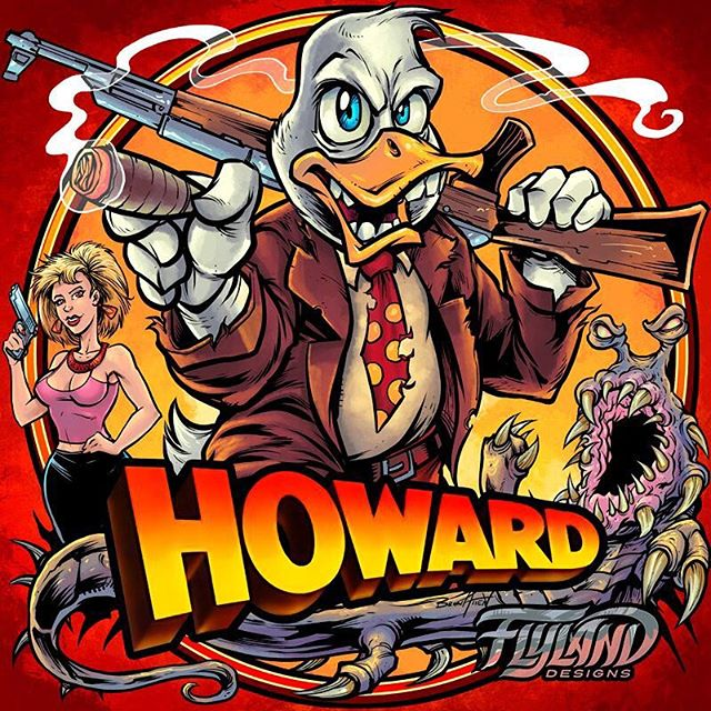 Here's a picture of Howard the Duck I drew - Howard was the first and best movie in the Marvel Cinematic Universe - How great would it be if Howard is he one to defeat Thanos, and the series could end where it began? Go back and watch this movie, it's bonkers.#howardtheduck howardtheduckfanart #mcuart #marvel#art #originalartwork #mangastudio #clipstudiopaint #illustration #tshirtdesign #tshirtart #hireanillustrator #freelanceartist #wacomcintiq