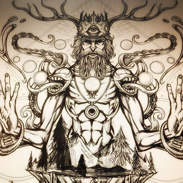 Sketch of a meditating mystic I illustrated last year for a group's poster - If anyone's been following my work or a long time, you'll know where the mouth-shoulder comes from! Any guesses?#psychedelicart #meditation #trippyart #cannabisart #mushroomart #marijuanaartist #cannabiscommunity#poster #gigposter #posterart #posterartist #silkscreenart #artprint