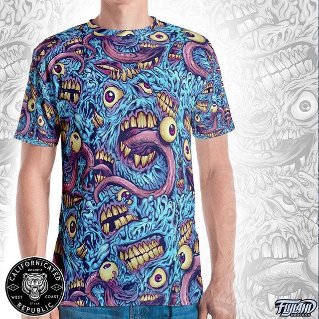 This is insane, check out how great my eyeballs and teeth seamless pattern turned out on this shirt! Special thanks to Californicated Republic for making this happen and turning one of my favorite personal designs into a real thing.Grab one http://californicatedrepublic.com/....#skaterart #420 #cannabiscommunity #marijuana #art #Californicated #hightimes #cannabisbrand #cannabis #weed #weedstagram #topshelf #cbd #indica #sativa #hybrid #marijuanaart