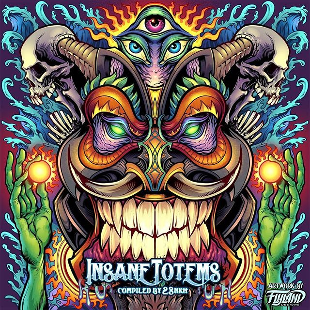 This is my favorite illustration in a series I created for an album compilation called Insane Totems by Digital Shaman Records. I'm pretty bad at drawing hands, but I like how these turned out. Maybe I'm only OK at drawing green hands?To see more of my work, or to hire me to create artwork like this:‍••••#albumcover #albumart #musicart #albumdesign #heavymetal #rockmusic#psychedelicart #trippyart #cannabisart #mushroomart #marijuanaartist #cannabiscommunity
