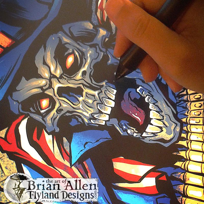 Illustrationd by Freelance Artist Brian Allen