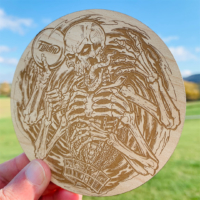 Basket Skeleton Wooden Disc Golf