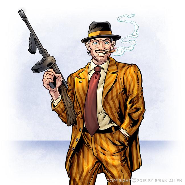 Character design illustrations f