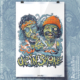 Cheech and Chong zombie art print