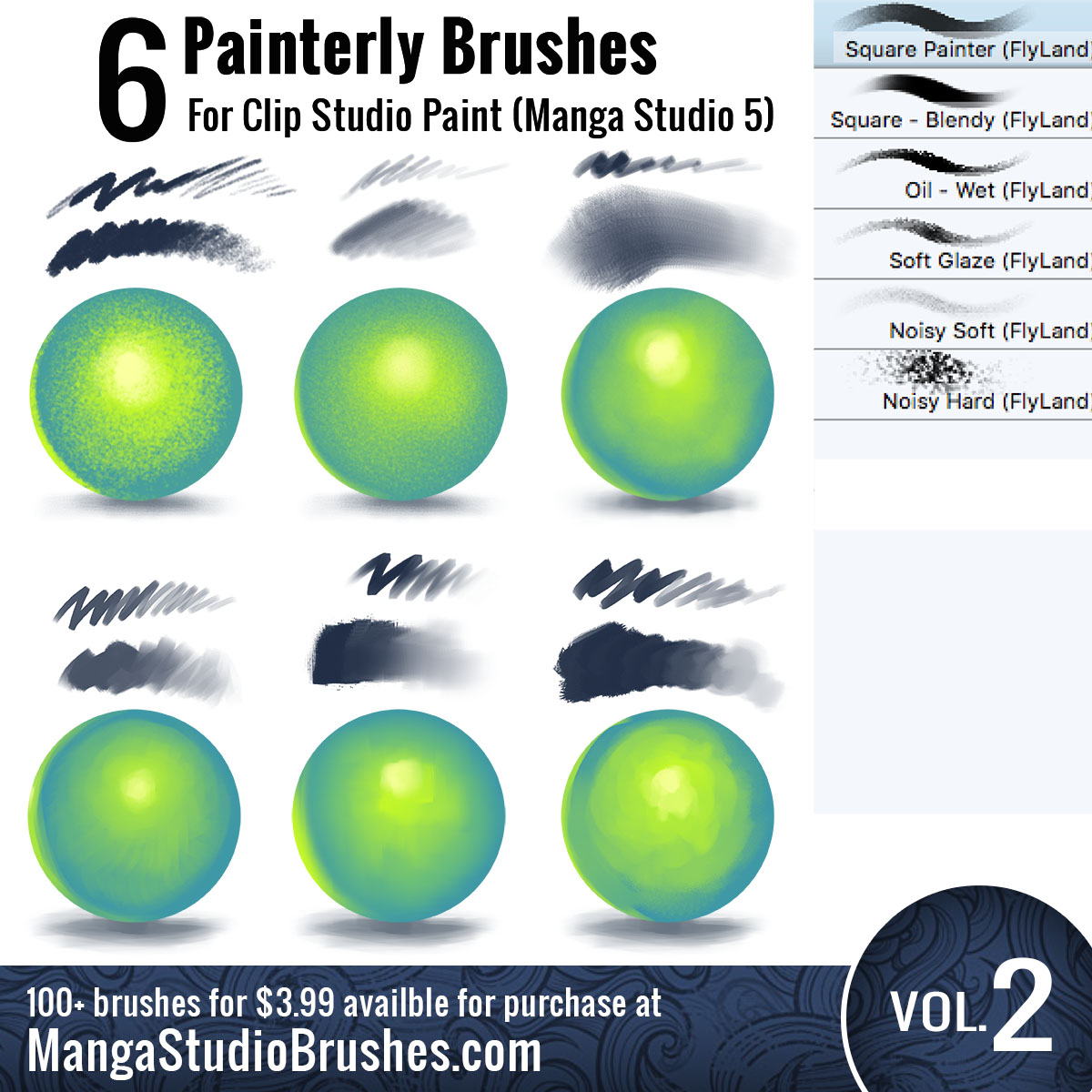 Brushes For Clip Studio Paint