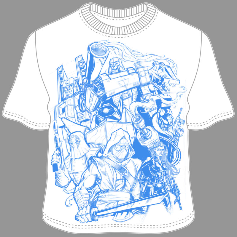Cobra and decepticons t shirt design flyland designs for T shirt silk screening