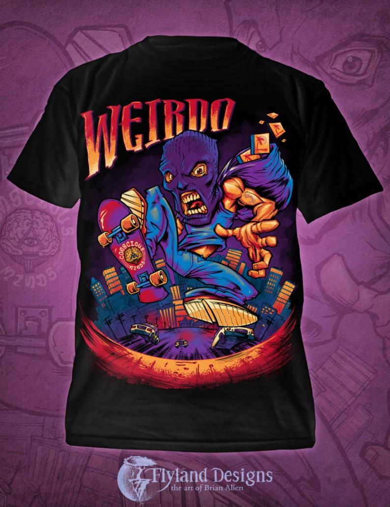 Conscious Curci T-Shirt mockup