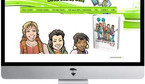 Yearbook cover website design
