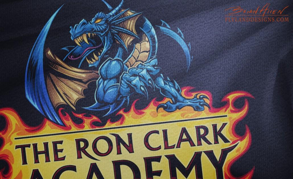 Dragon Logo Design for School