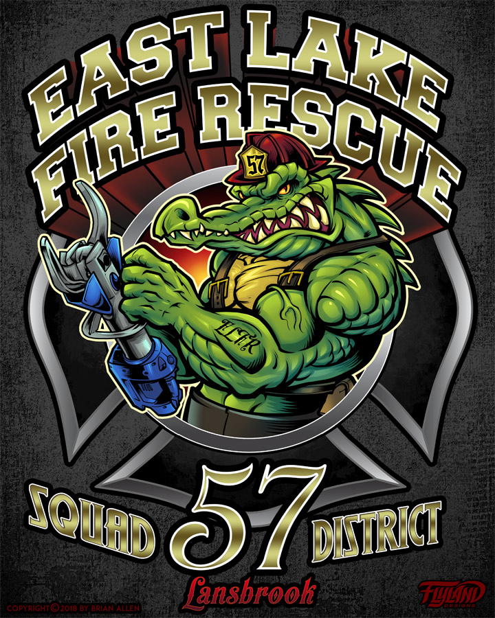 Logos designs for East Lake Fire