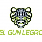 Logo Design of a robot for Nerdcore Rapper El Gun Legro