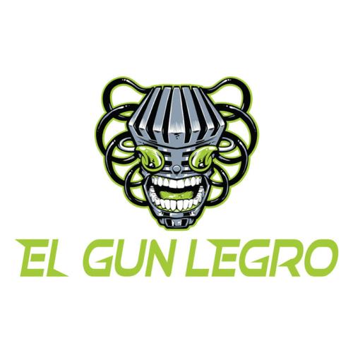 Logo design of a hip-hop robot