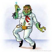 Strange fantasy character design