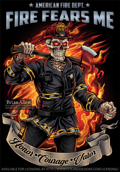 This Fireman Skeleton hasn no fe