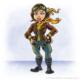 Female pilot mascot for air forc
