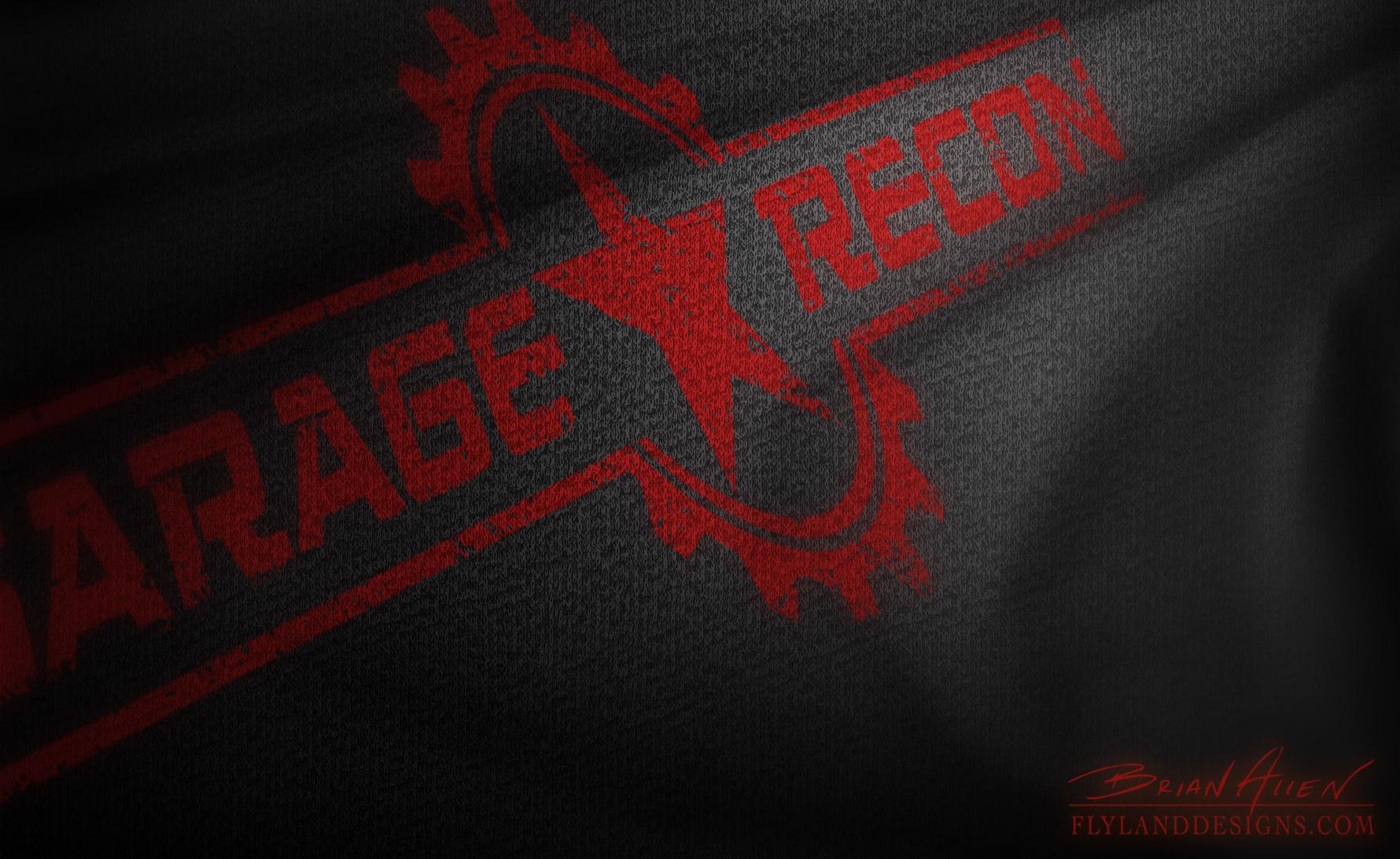 Garage Recon Logo Design - Flyland Designs, Freelance Illustration ...