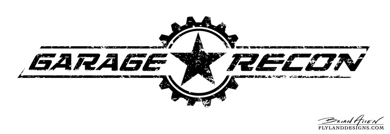 Garage recon logo design flyland designs freelance for Garage auto star antony