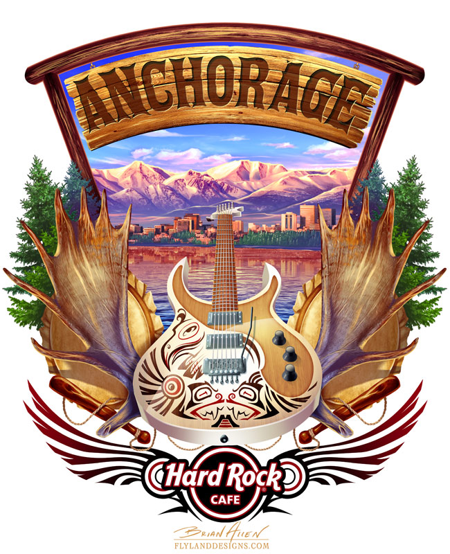 Anchorage T-shirt design