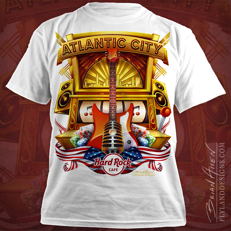 Hard Rock Cafe T Shirt Designs Flyland Designs