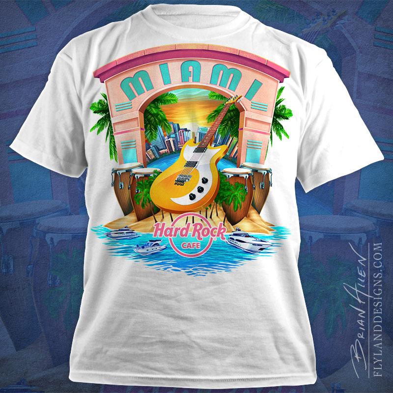 Hard Rock Cafe T Shirt Designs Flyland Designs