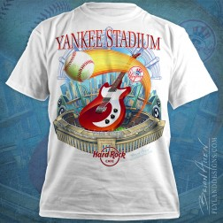 Hard Rock Cafe T-Shirt design of Yankee Stadium