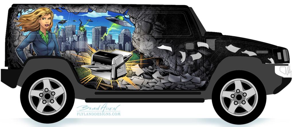 Best Car Truck Van Vehicle Wrap Design Examples