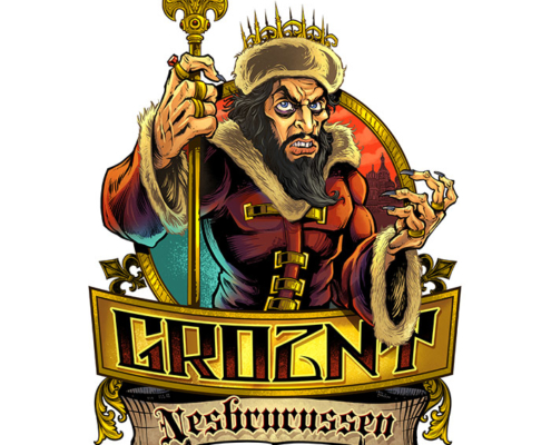Caricature of Ivan The Terrible