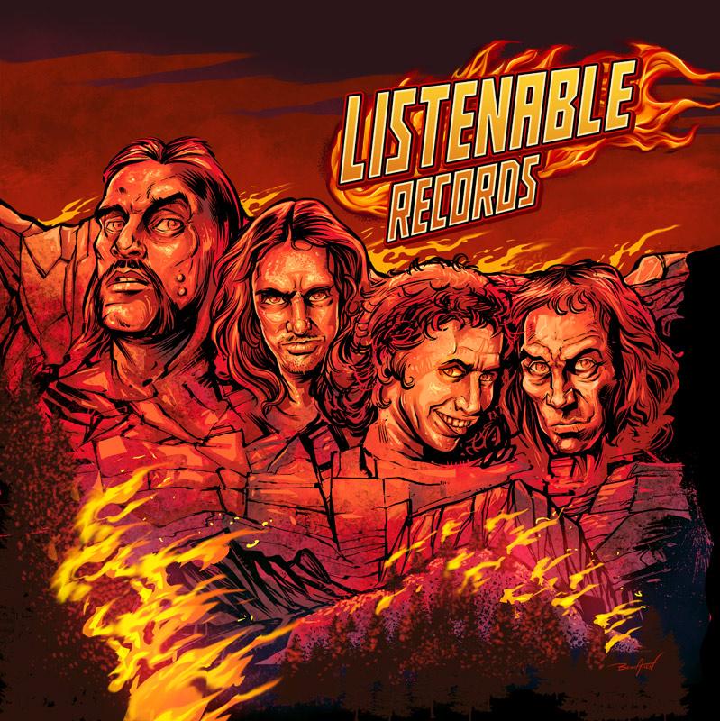 Lemmy, Cliff Burton, Ronnie Ja