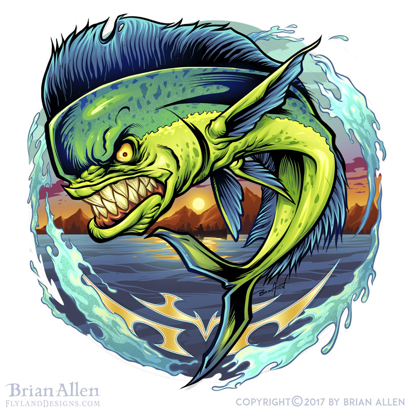 Fun illustrations of a mean gree