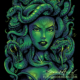 Dark illustration of Medusa for a T-Shirt design