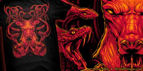 Total Domination Hitmen T-Shirt